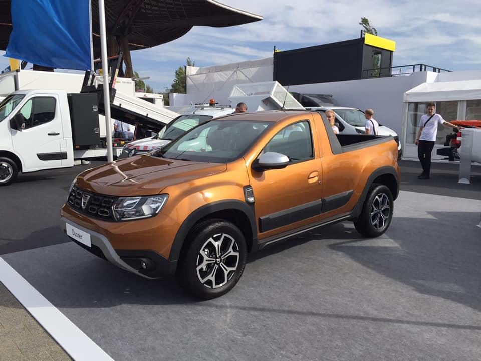 Avem un prototip Duster Pick-up, dar nu e făcut de Dacia
