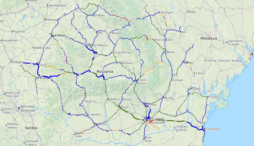 Cum Folosim Harta Interactivă A Calității Drumurilor Din Romania