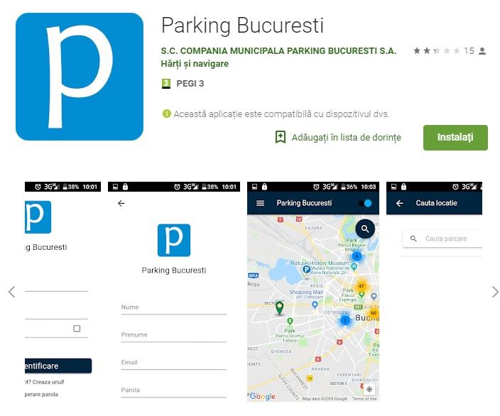 aplicații primăria capitalei