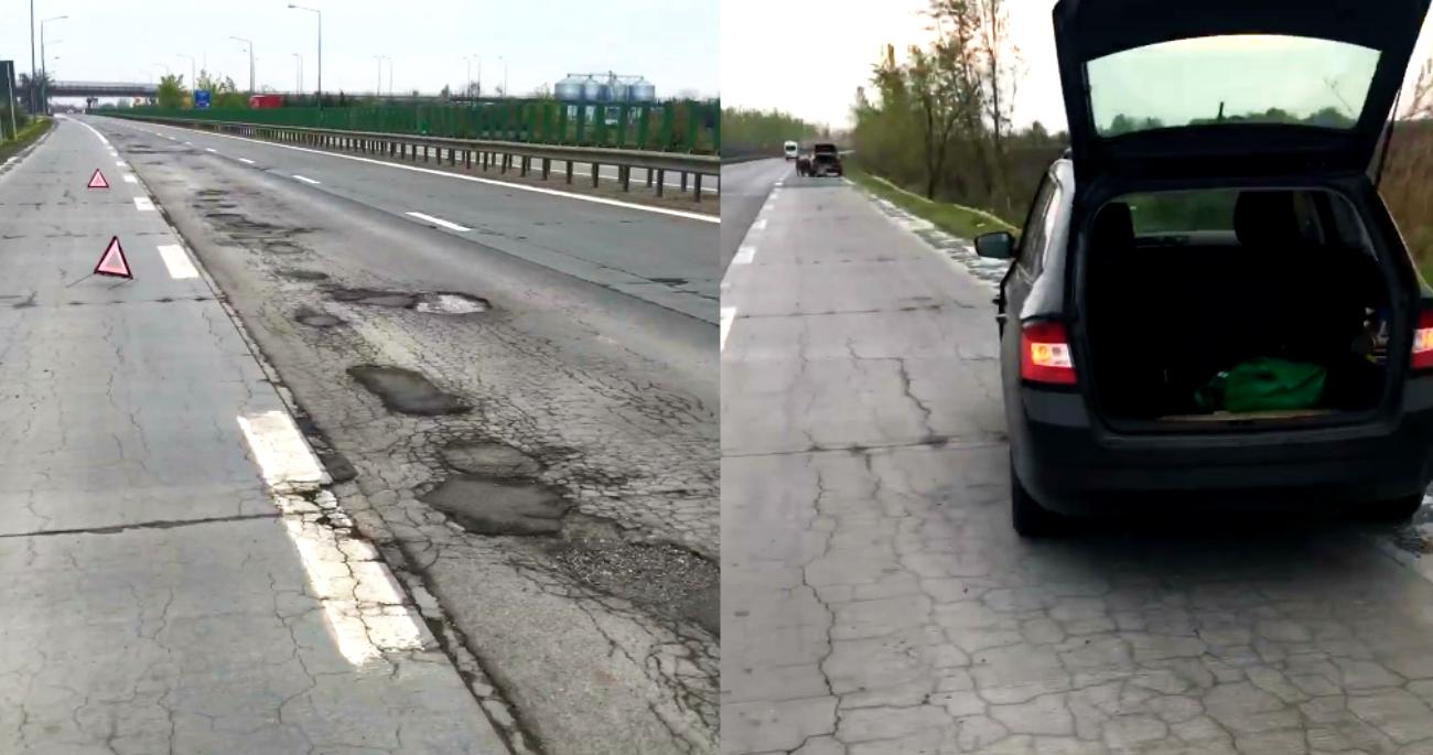 Video Autostrada Soarelui Arată Ca După Bombardament