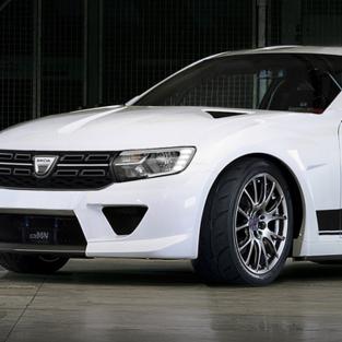Dacia Sport GTR - un studiu de coupe care nu a devenit realitate