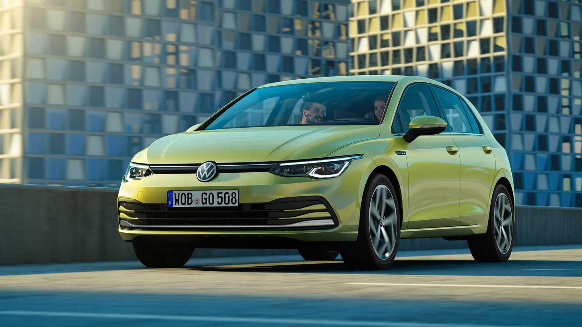 Acesta este noul Volkswagen Golf!