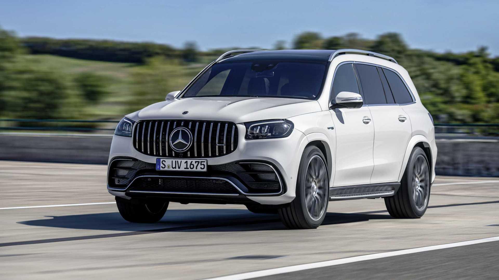 Spațiu la superlativ: acesta este noul Mercedes-Benz GLS 63 4MATIC+