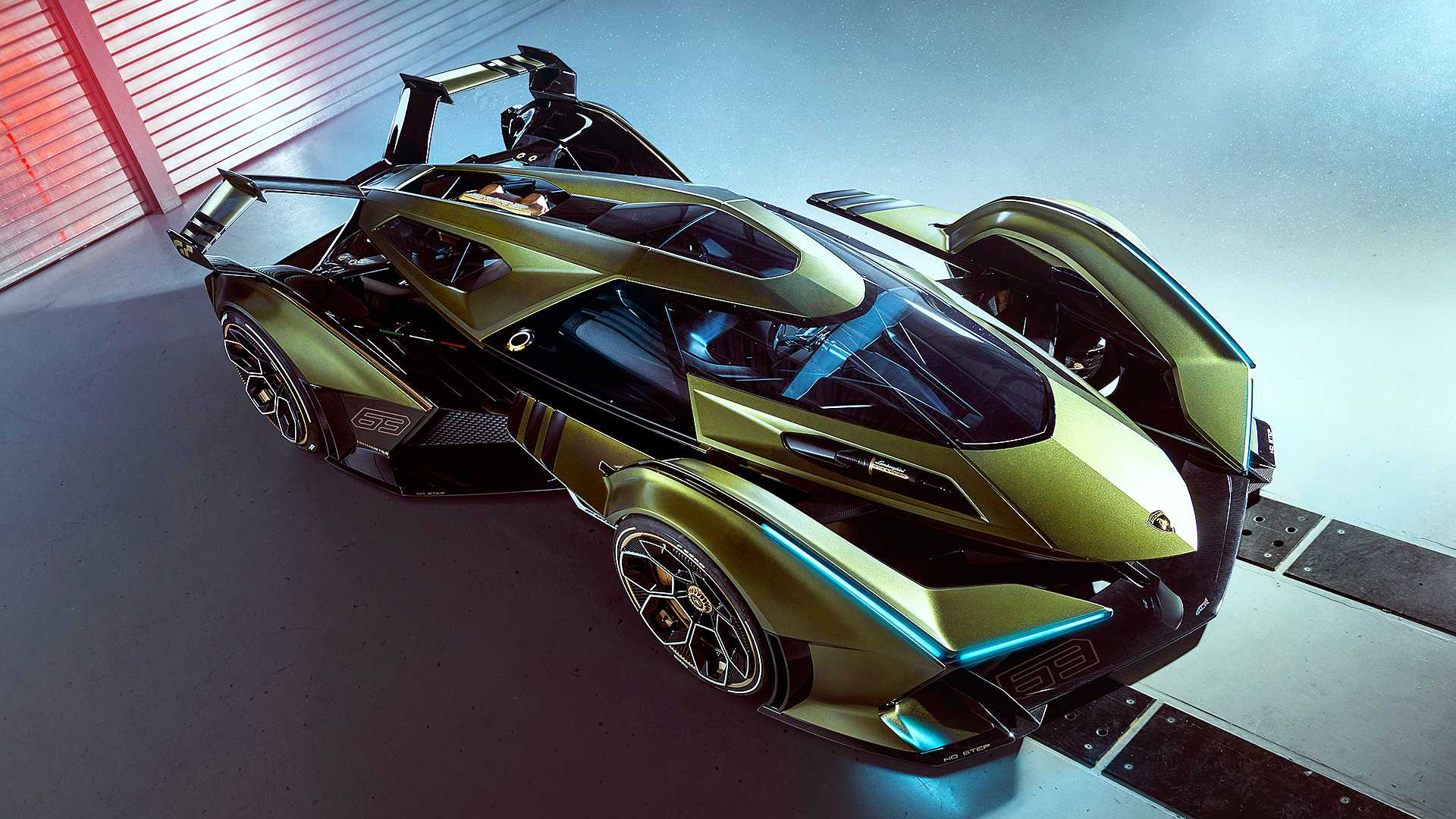 Lamborghini V12 Vision Gran Turismo este ca de pe altă planetă!