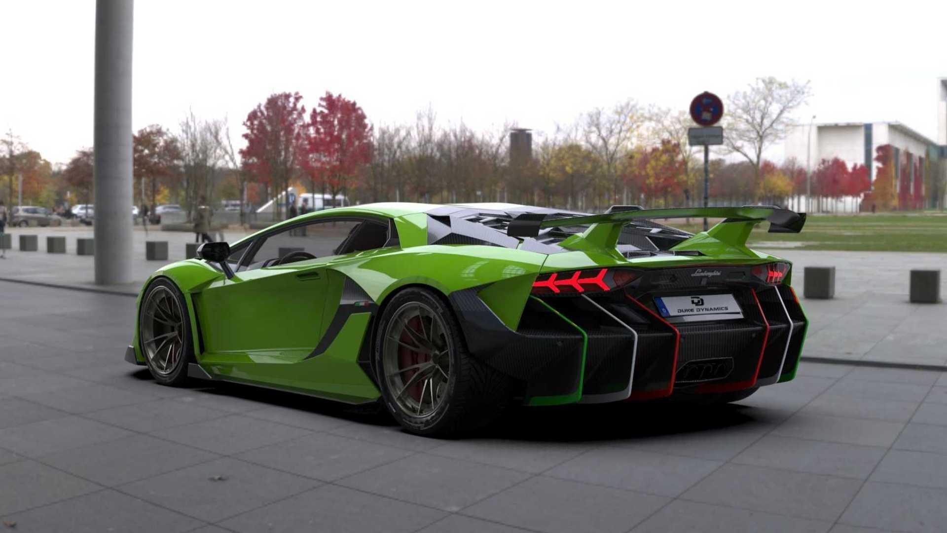 Tuning Lamborghini semnat de un român! Cât costă kitul aerodinamic