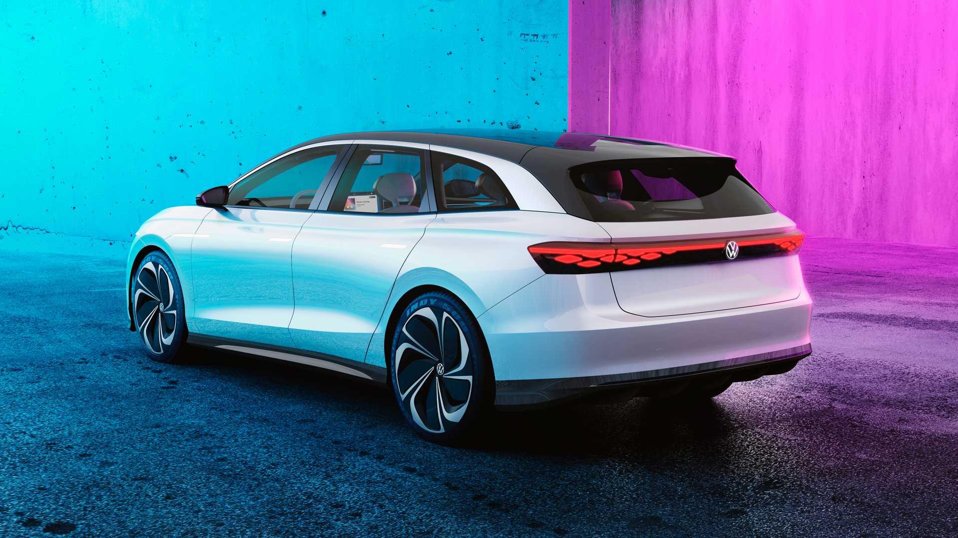 Volkswagen ne prefigurează breakul viitorului cu ID Space Vizzion