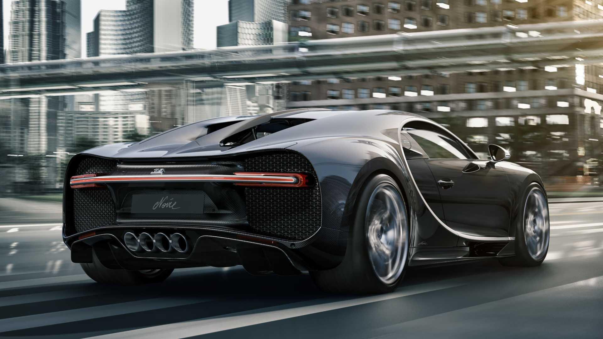 Bugatti Chiron Noire Duo, cea mai nouă versiune a hyper-GT-ului
