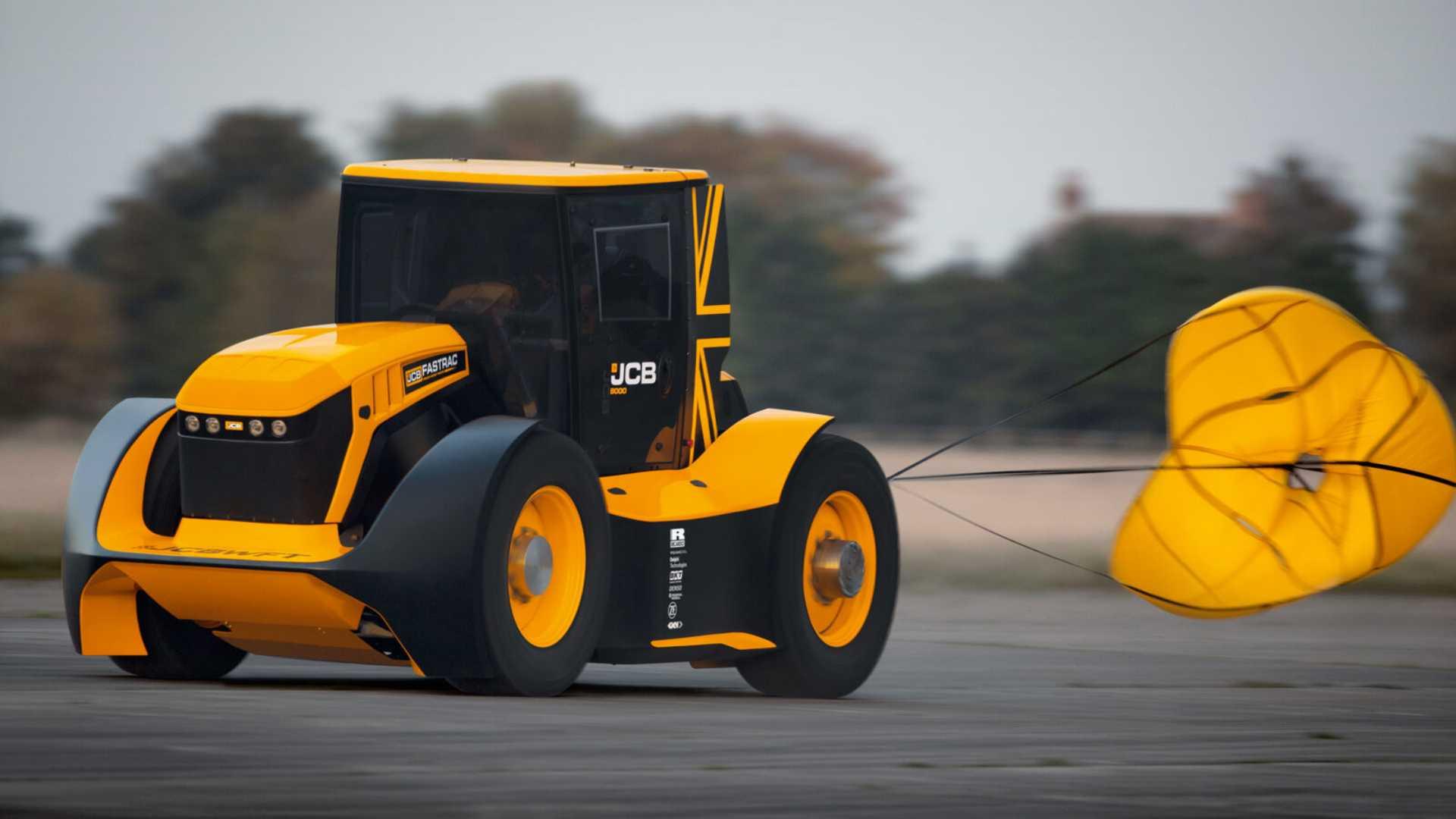 jcb fastrac cel mai rapid tractor din lume 2019