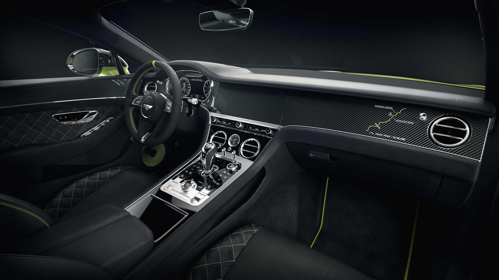 Bentley celebrează victoria de la Pikes Peak cu o ediție specială Continental GT