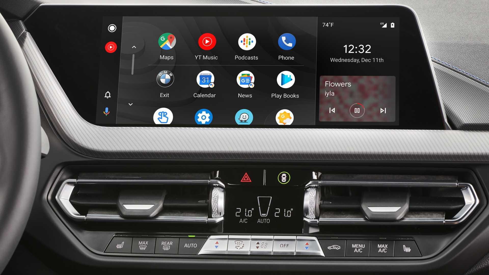 bmw 7.0 oferă android auto si conectivitate wireless