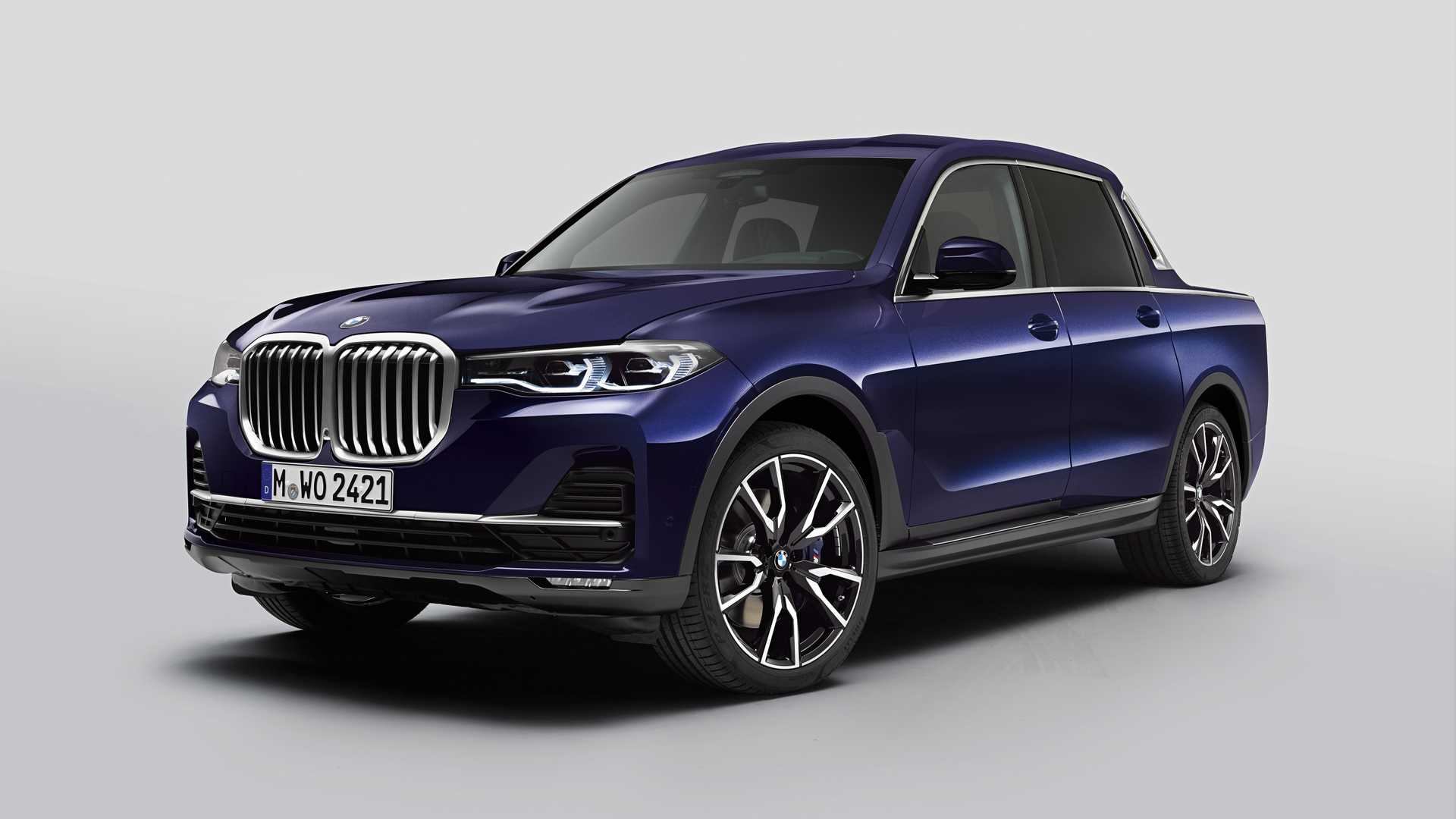 bmw x7 pickup unicat