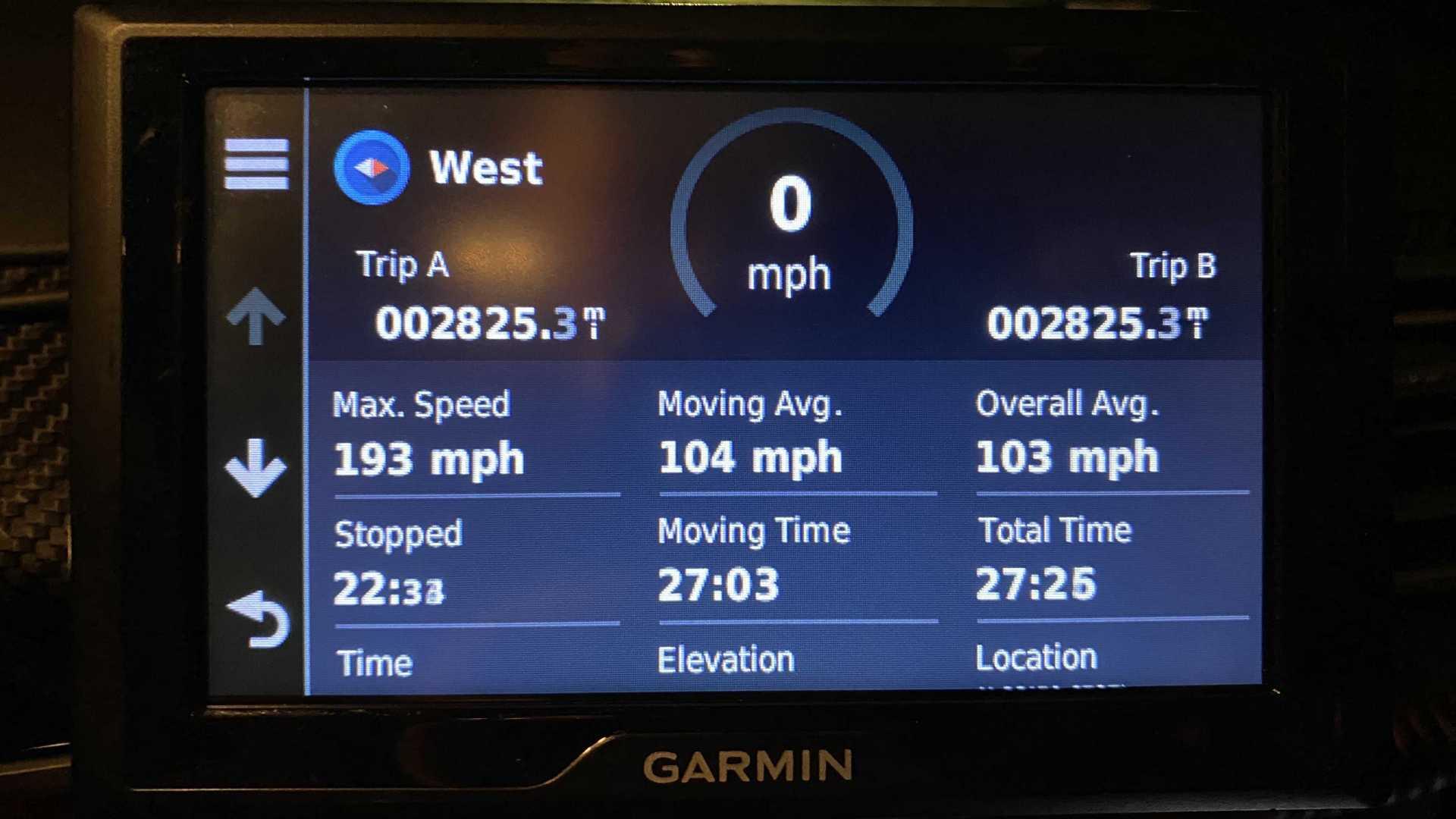 Record Cannonball Run 2019