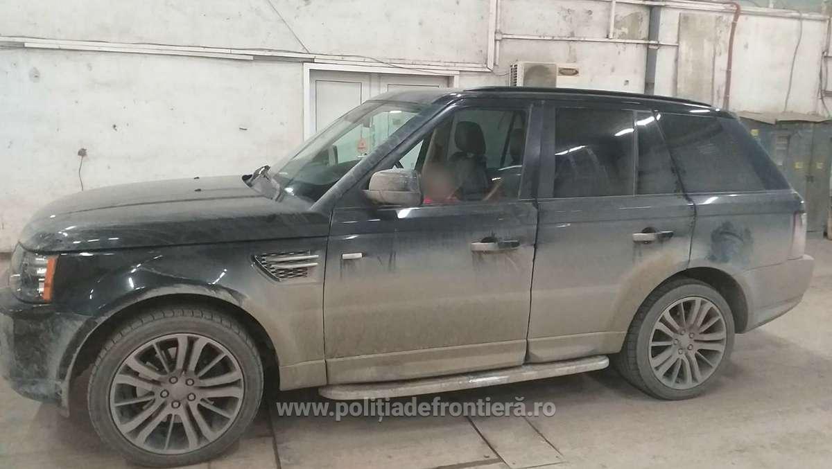 range rover confiscat politia de frontiera 2020