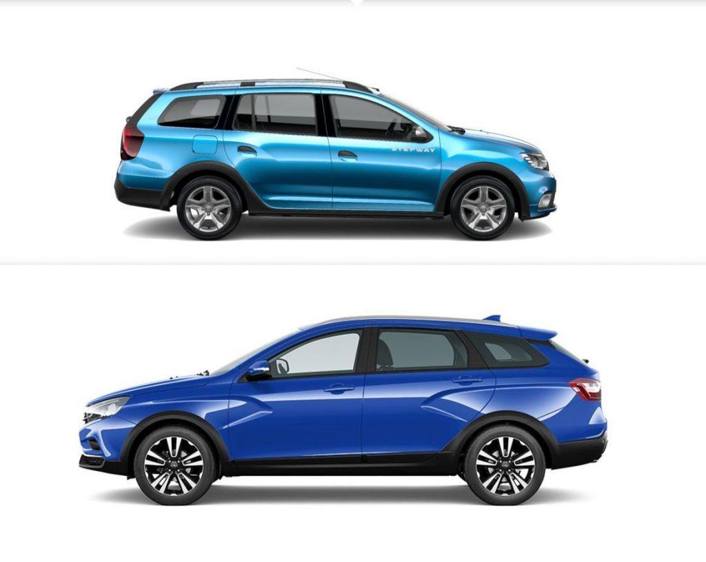 Lada Vesta SW Cross versus Dacia Logan MCV Stepway - ce alegem?