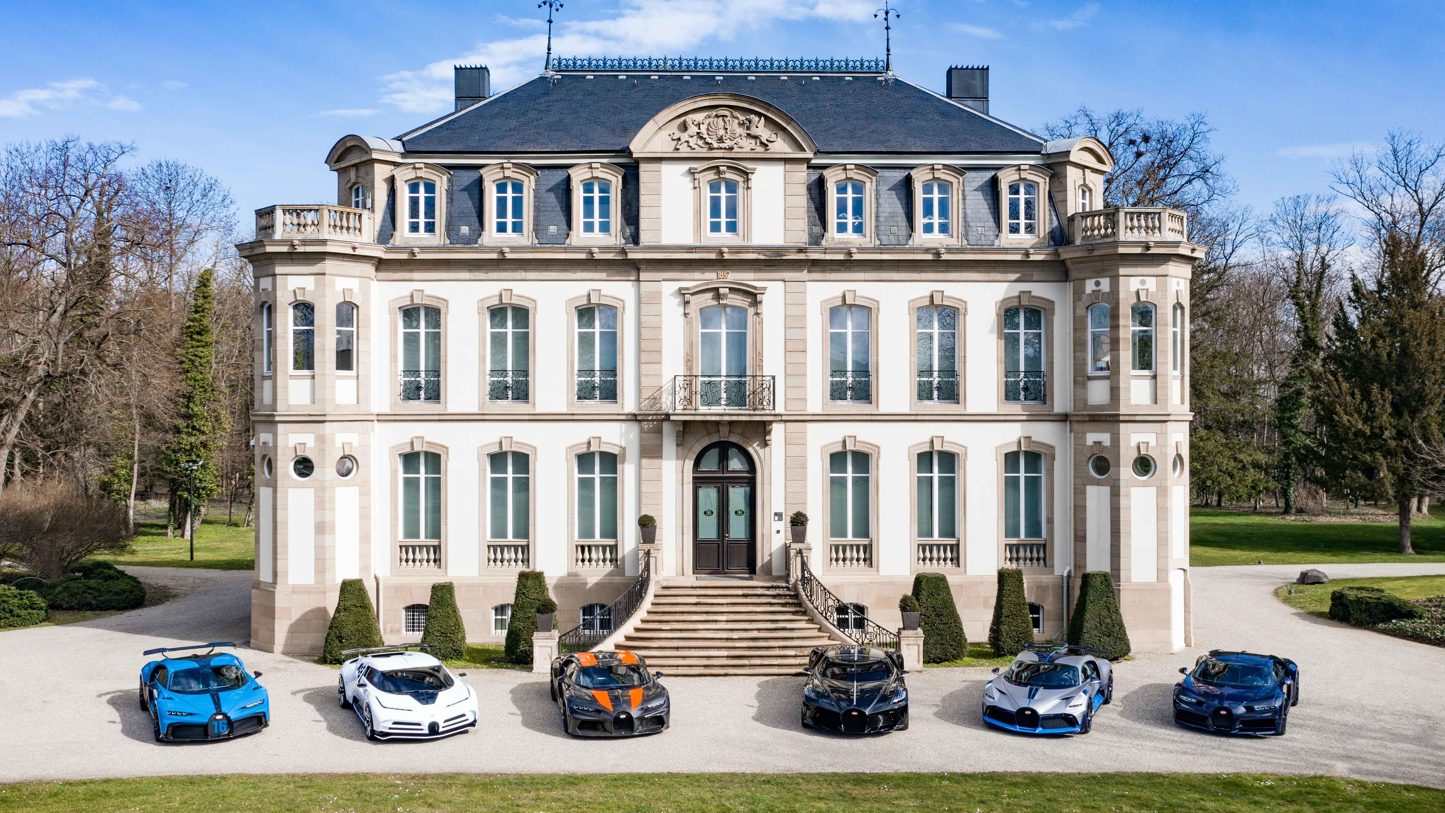 Bugatti Chiron — ediții speciale