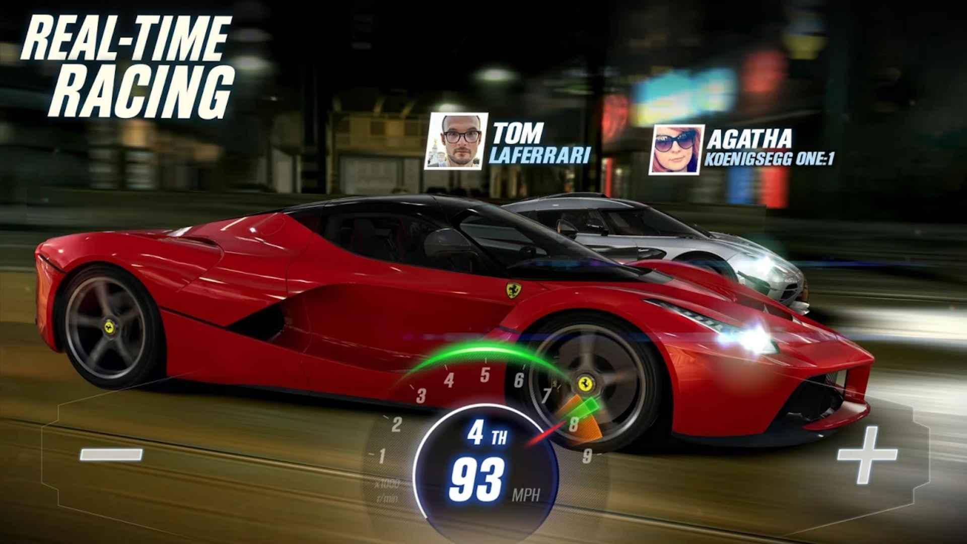 csr racing 2 jocuri mobil