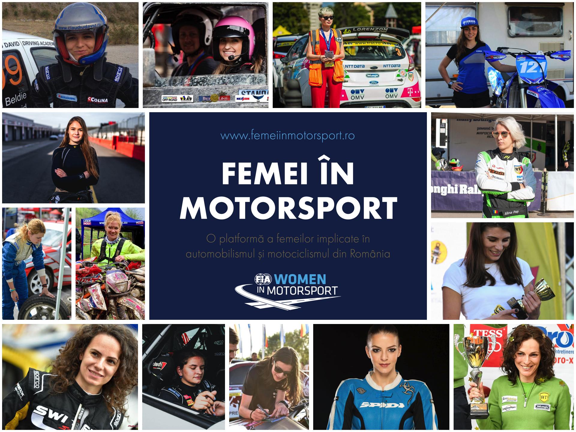 femei in motorsport