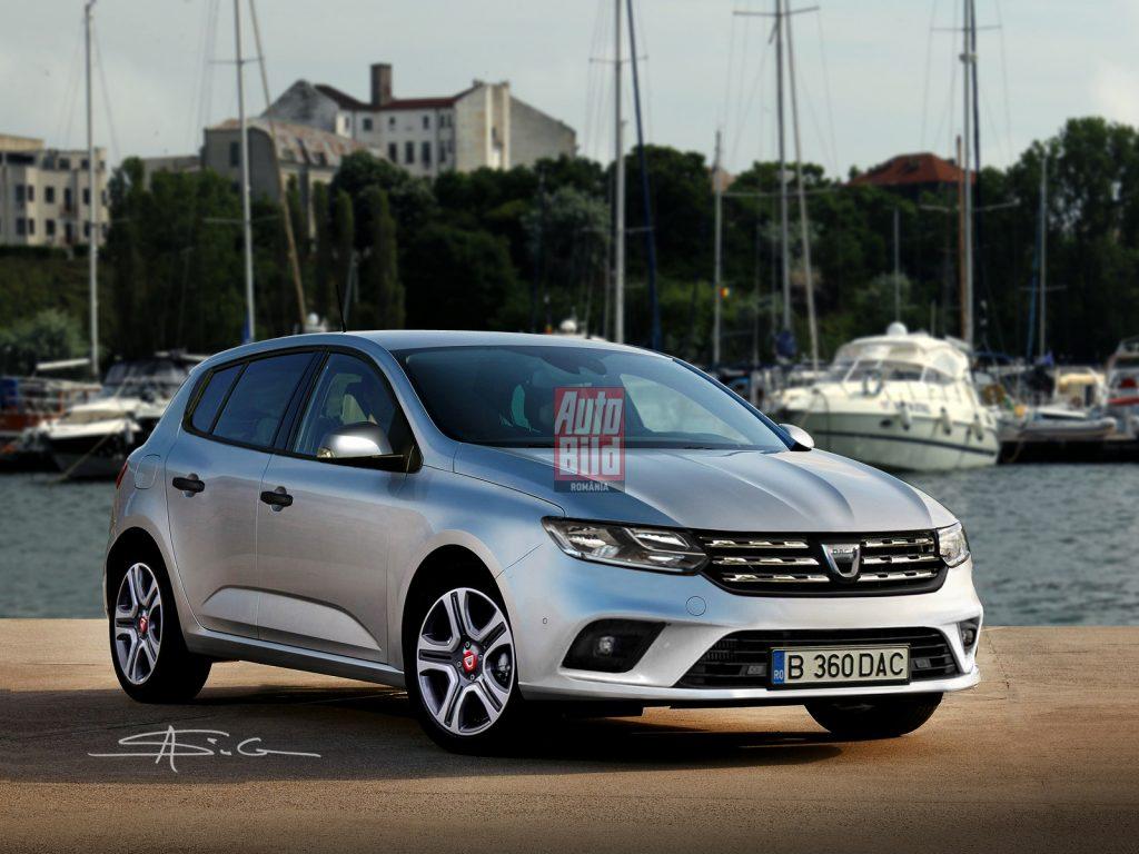 Cum va arăta noua Dacia Sandero