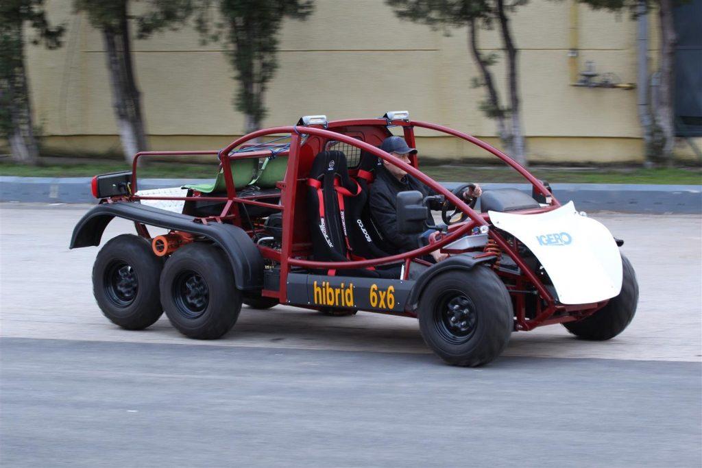 Buggy 6×6