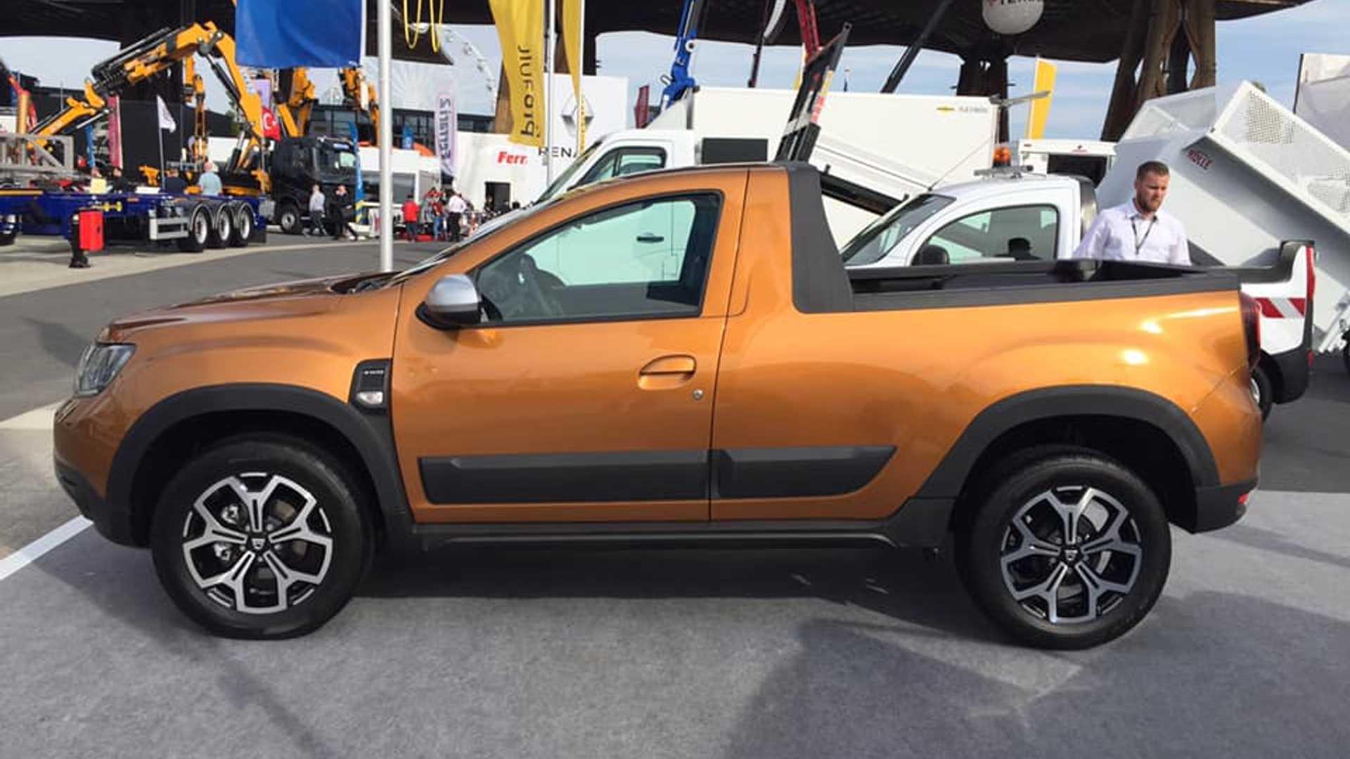 Noua Dacia Duster Pick-up ar putea fi disponibilă din acest an