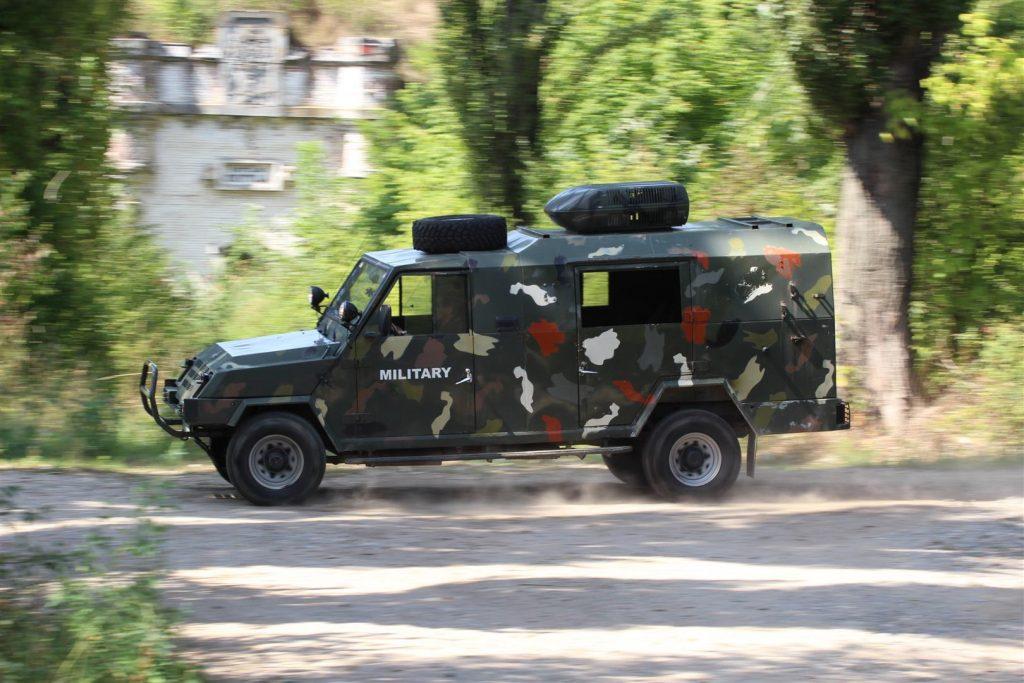 Balaurul - ultimul ARO fabricat pentru Armata Română