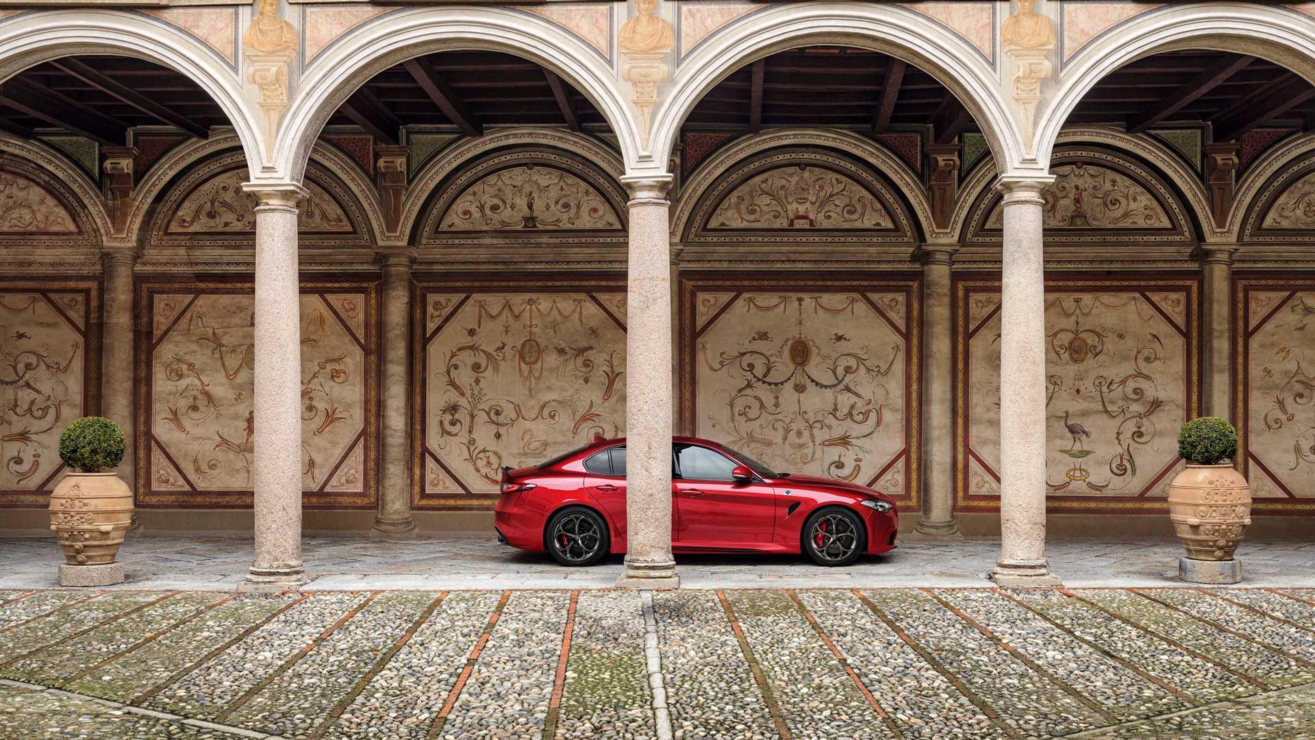 Alfa Romeo Giulia QV facelift