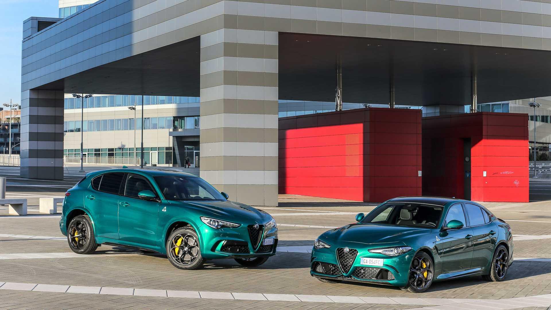 Alfa Romeo Stelvio QV & Giulia QV facelift