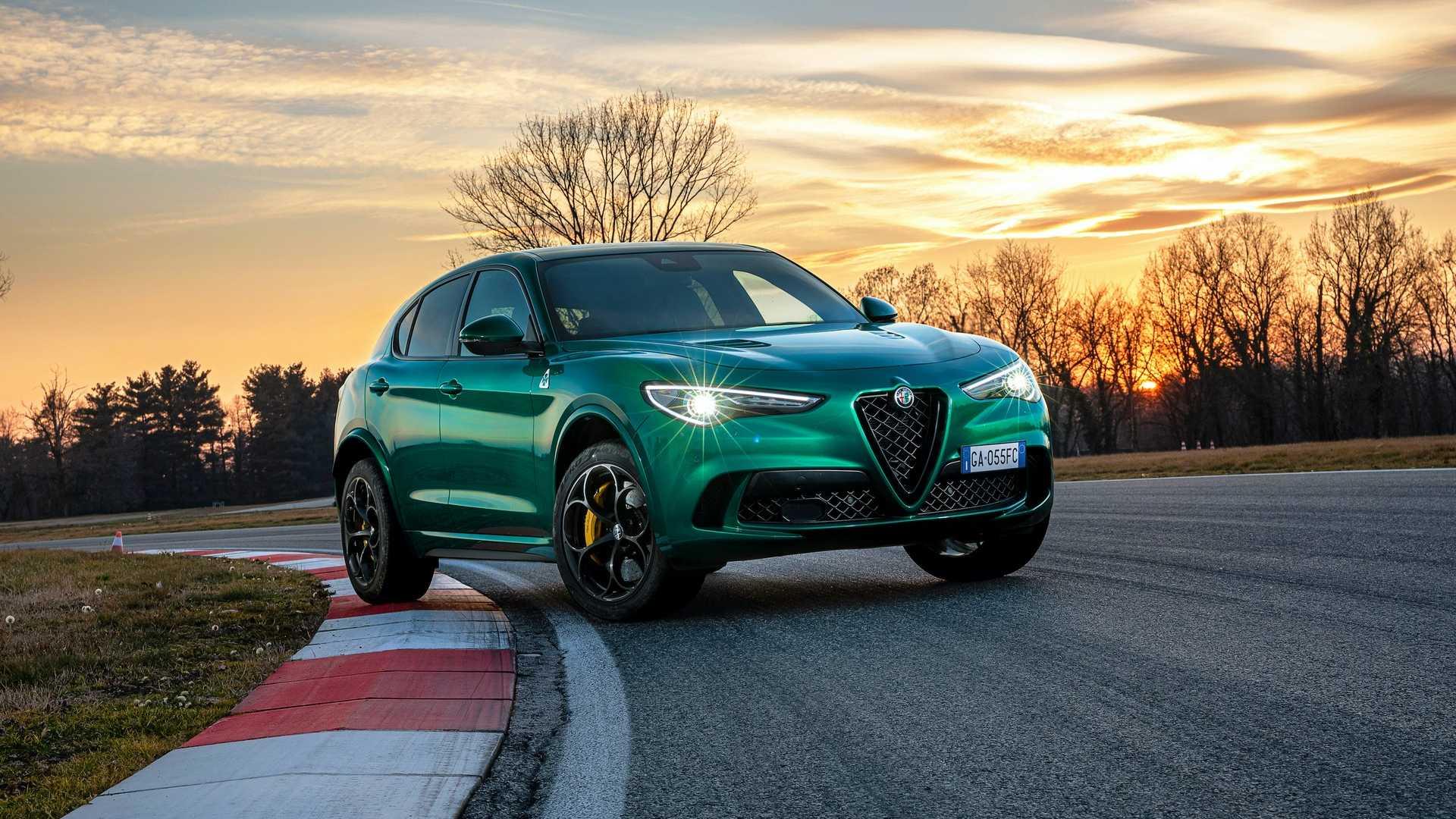 Alfa Romeo Stelvio QV facelift
