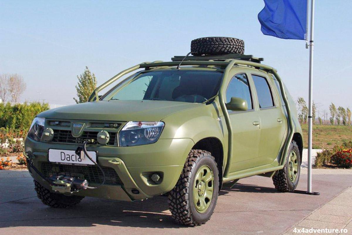 Dacia Duster Army - toate informațiile despre această versiune militară