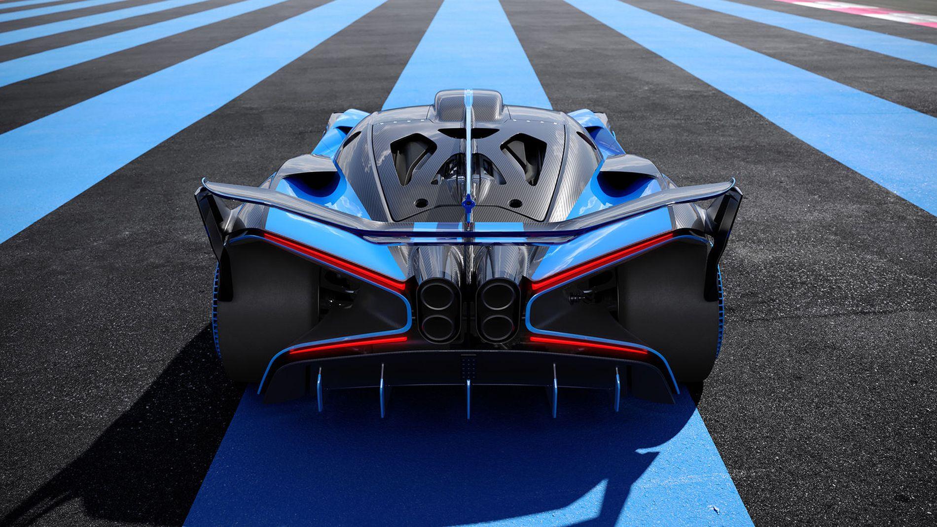 Bugatti Bolide - doar 20 de secunde pentru repriza de la 0 la 500 km/h