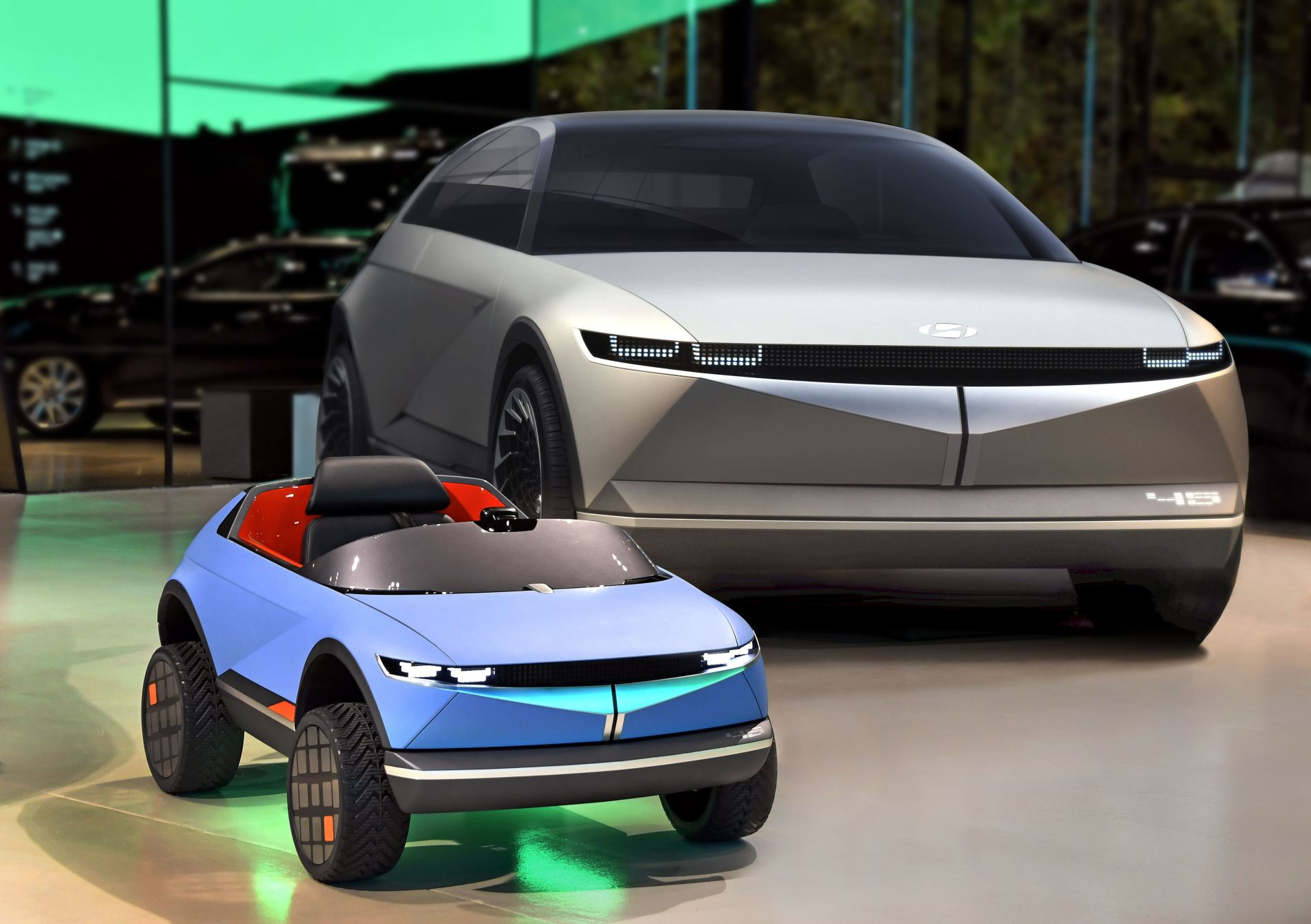 Hyundai prezintă un mini-vehicul electric