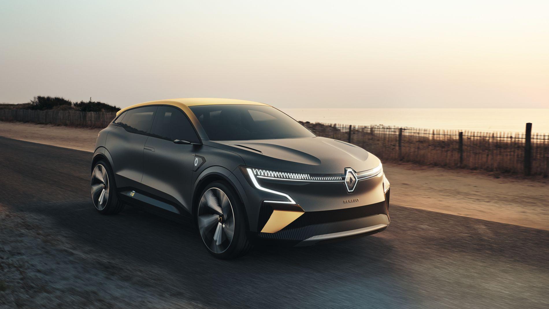 Renault Megane eVision - 217 CP și 450 de km autonomie