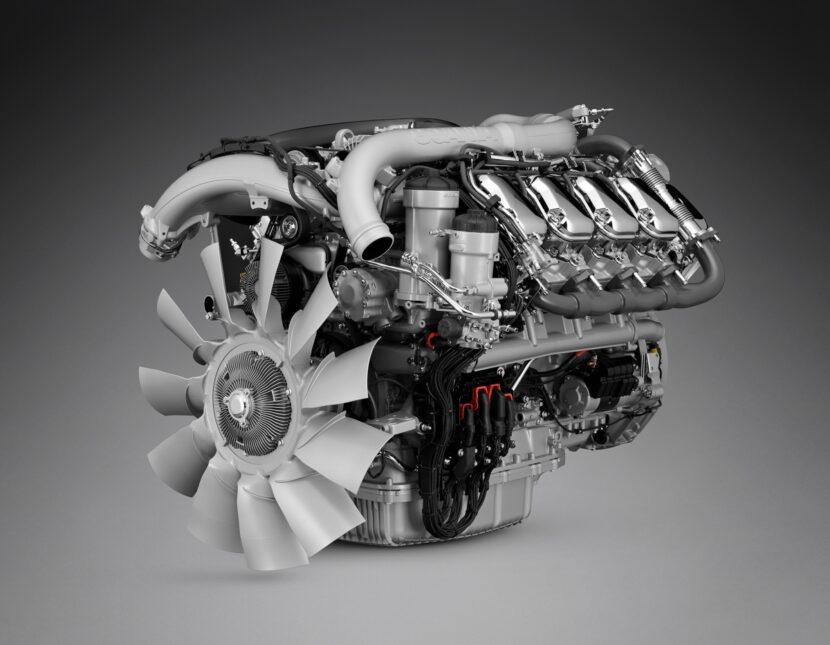 Scania a prezentat noua generație de motoare V8 de 16,4 litri și clienții pot alege o versiune a acestui motor de 770 CP.
