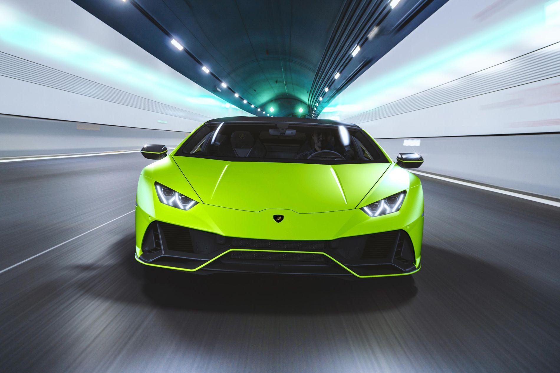 Lamborghini introduce o nouă colecție de culori pentru Huracan Evo
