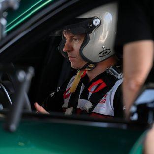 Kimi Räikkönen Alfa Romeo Giulia GTAm